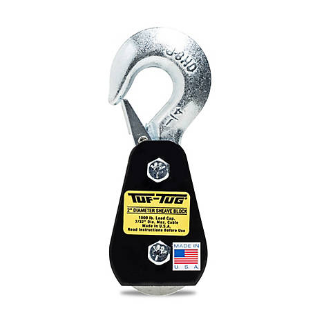 Tuf-Tug 2 in. Hook Block