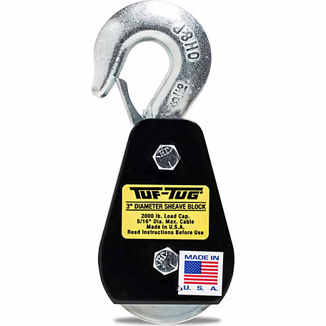 Tuf-Tug 3 in. Hook Block