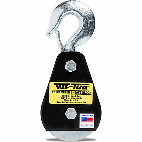 Tuf-Tug 4 in. Hook Block