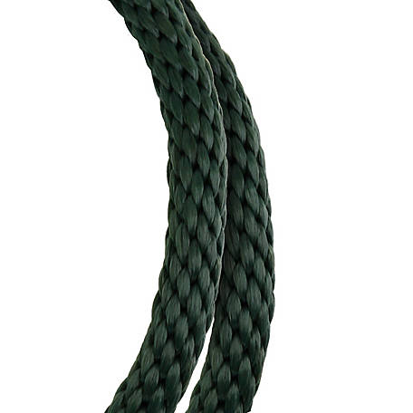 Koch Industries Polypropylene, Solid Braid, Black, 5/8 in. dia., Sold by the ft.