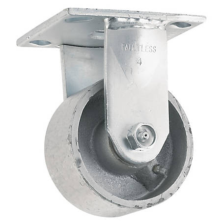 Waxman Titan 4 in. Rigid Steel Caster