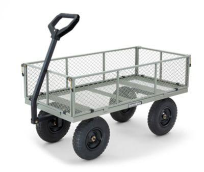 Exceptionnel GroundWork Steel Garden Cart, 1,000 Lb. Capacity