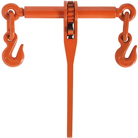 Koch Industries Ratchet Binder, Orange, 1/4 in., 1 Each