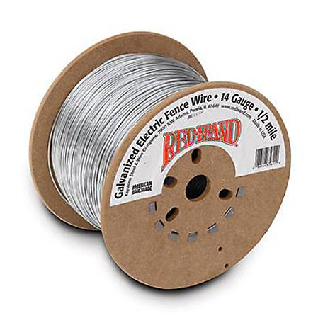 Rednd Galvanized Electric Fence Wire  Ft