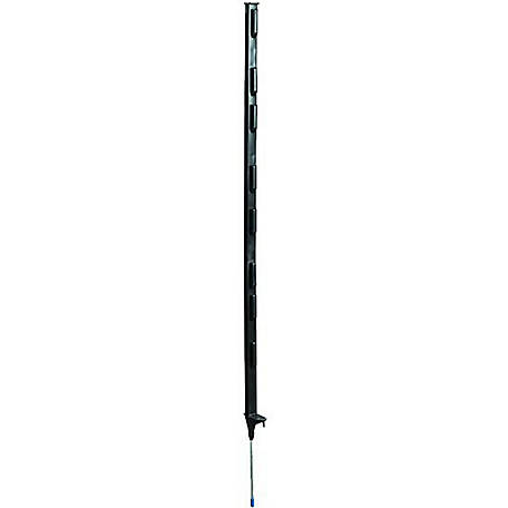 Fi-Shock 4 ft. Black Step-In Fence Post, A-48B