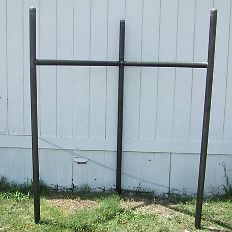 Fence Corner Brace with One Rail