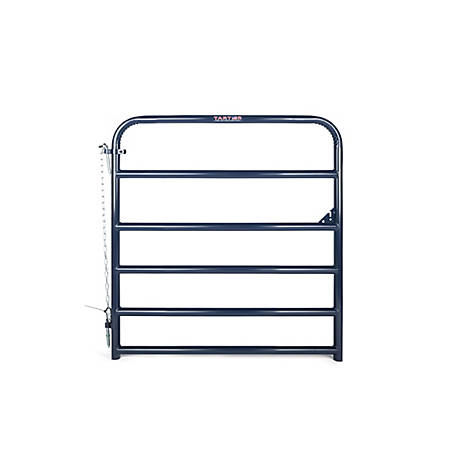 CountyLine 6-Bar Utility Gate - 4 ft. Blue, 6EB4