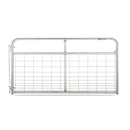 CountyLine Galvanized Mesh Gate, 8 ft. L x 50 in. H
