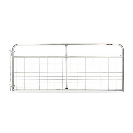 CountyLine Galvanized Mesh Gate, 10 ft. L x 50 in. H