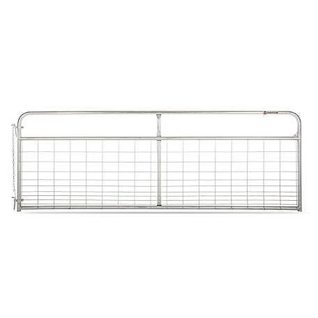 Countyline Galvanized Mesh Gate, 12 ft.