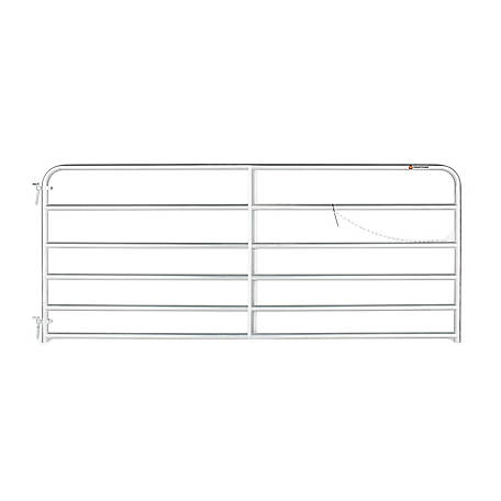 CountyLine Galvanized Gate, 10 ft. (L) x 50 in. (H)