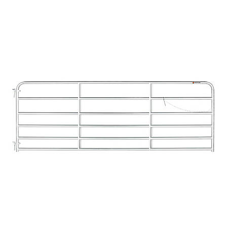 CountyLine Galvanized Gate, 12 ft. (L) x 50 in. (H)