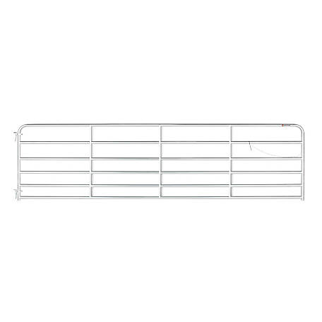 CountyLine Galvanized Gate, 16 ft. (L) x 50 in. (H)