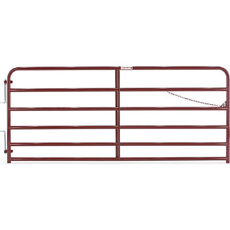 Tarter Painted 2 in. Tube Gate, 10 ft.