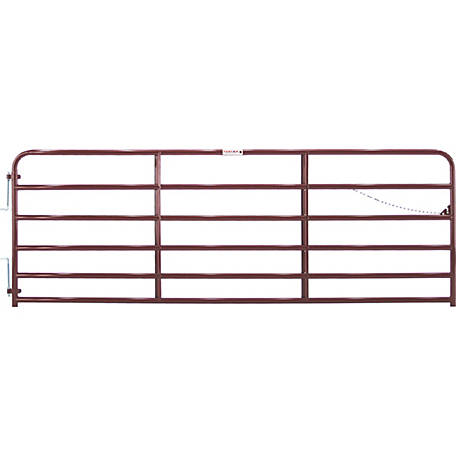 Tarter Painted 2 in. Tube Gate, 12 ft.