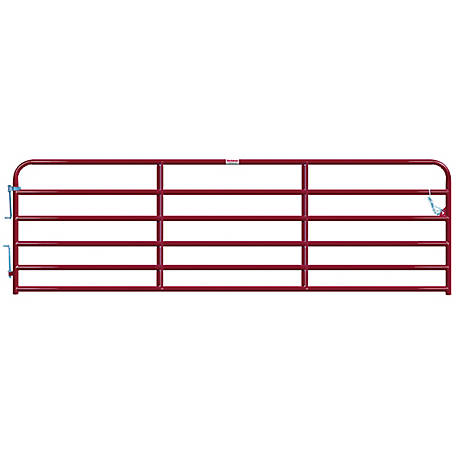 Tarter Painted 2 in. Tube Gate, 14 ft.