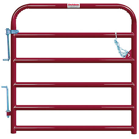 Tarter Painted 2 in. Tube Gate, 4 ft.