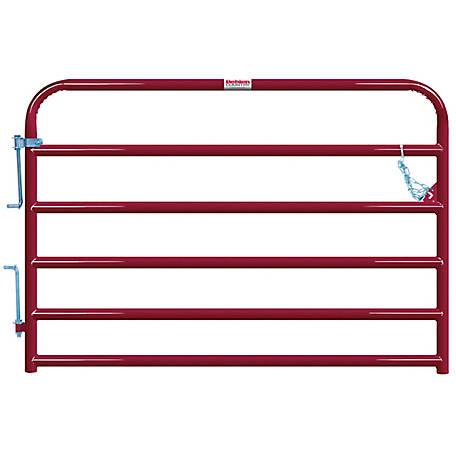 Tarter Painted 2 in. Tube Gate, 6 ft.