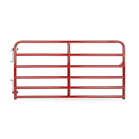 Tarter Painted 2 in. Tube Gate, 8 ft.