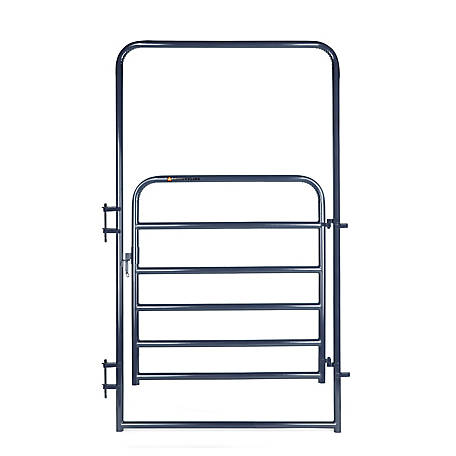 CountyLine 4 ft. x 8 ft. Economy Gate, Blue, EWB4