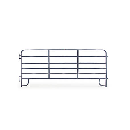 CountyLine Corral Panel, 12 ft. (L) x 60 in. (H) with Blue E-Coat