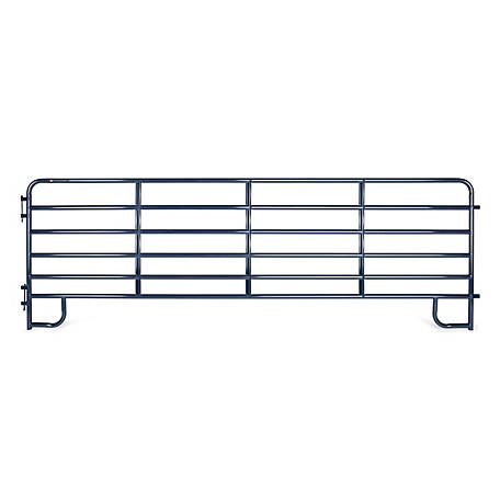CountyLine Corral Panel, 16 ft. (L) x 60 in. (H) with Blue E-Coat