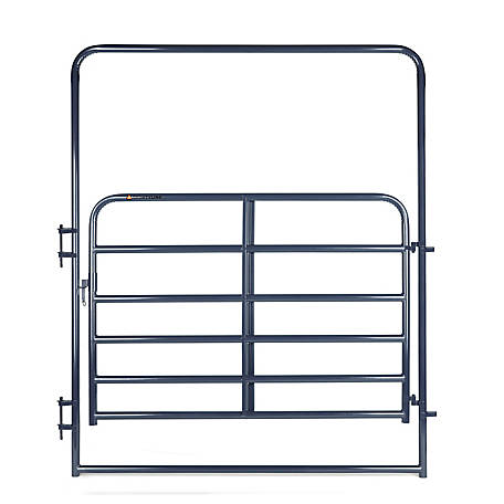CountyLine 6 ft. Utility Gate with 8 ft. Frame, Blue, EWB6