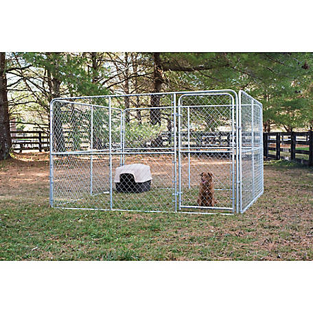 Stephens Pipe & Steel Dog Kennel, 10 ft. W x 10 ft. L x 6 ft. H