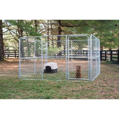 Stephens Pipe U0026 Steel Dog Kennel, 10 Ft. W X 10 Ft. L