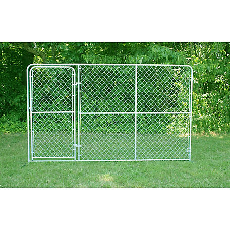 Stephens Pipe & Steel Preferred Kennel Gate Panel, 10 ft. x 6 ft. - Kennel Sold Separately
