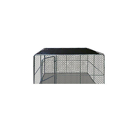 Pet-Tough G10X10-K3 Pet Kennel Shade Cover, 10 ft. x 10 ft.