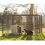 Tarter Farm and Ranch Equipment 6 ft. x 10 ft. x 10 ft. Heavy-Duty Dog Kennel