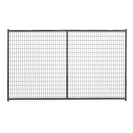 Tarter Farm and Ranch Equipment 6 ft. x 10 ft. Heavy-duty Dog Kennel Side Panel, Gray