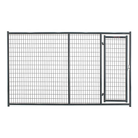 Tarter Farm and Ranch Equipment 6 ft. x 10 ft. Heavy-duty Dog Kennel Front Panel, Gray