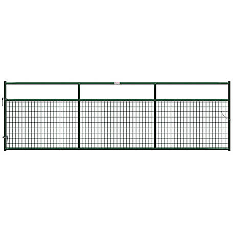 CountyLine Wire Filled Gate, 14 ft. L x 50 in. H