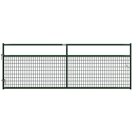 CountyLine Wire Filled Gate, 12 ft. L x 50 in. H
