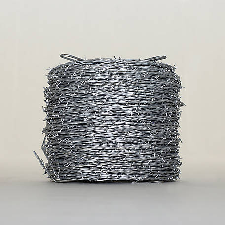 OK Brand Premium Barbed Wire, 12.5 Gauge, 2-Point, 1,320 ft.