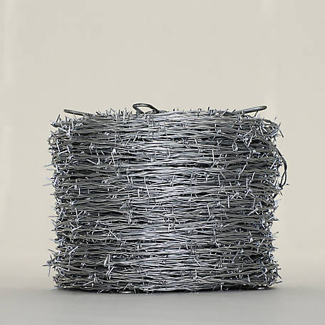 OK Brand Premium 4 Point Barb Wire, 12-1/2 Gauge, 1,320 ft.
