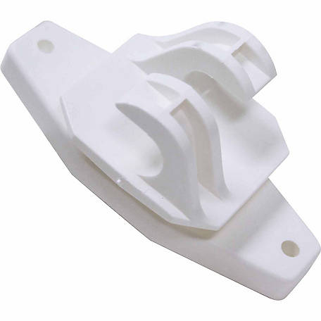 Sure-Fit Wood Post Insulator, White