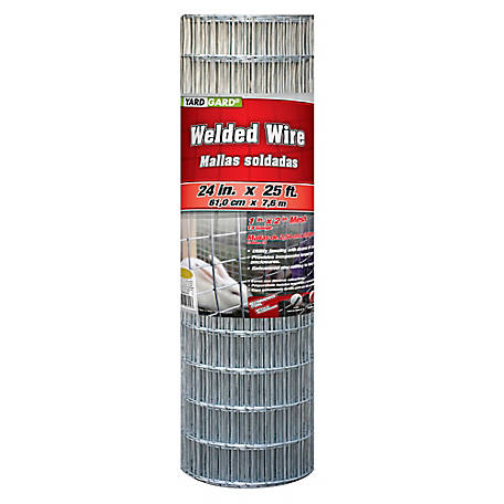 24 in. x 25 ft. Cage Wire with 1 in. x 2 in. Mesh, 432425