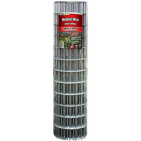 48 in. x 50 ft. Welded Wire with 2 in. x 4 in. Mesh, 214850