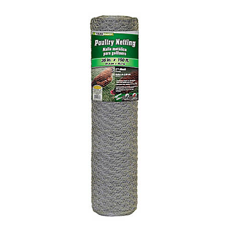 36 in. x 150 ft. Poultry Netting with 1 in. Mesh, 163615