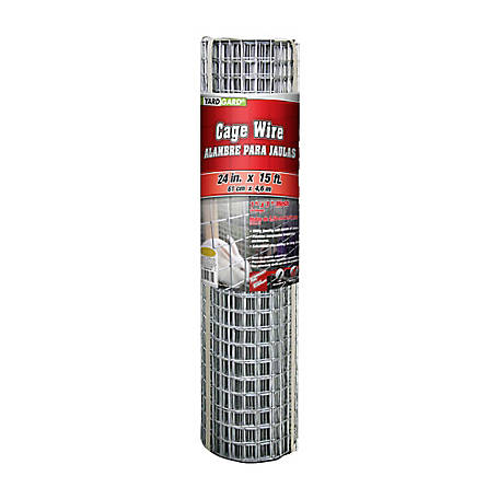 Garden Zone Cage Wire With 1 x 1 in. Mesh, 24 in. H x 15 ft. L, 412415