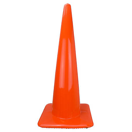 Stanley Traffic Cone, 28 in., Orange