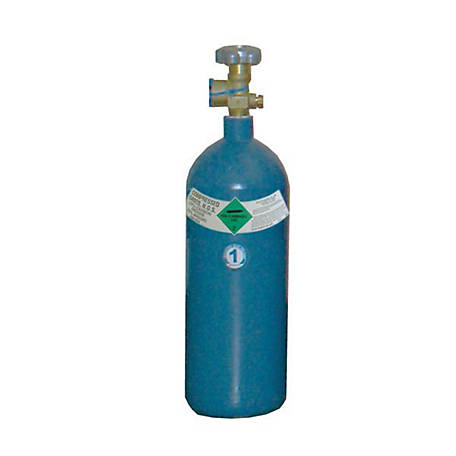 Thoroughbred Shielding Gas Cylinder, #1 Size, 20 cu. ft.