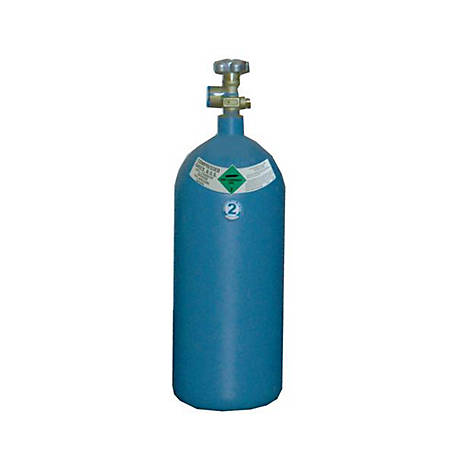 Thoroughbred Shielding Gas Cylinder, #2 Size, 40 cu. ft.