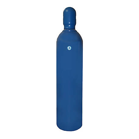 Thoroughbred Shielding Gas Cylinder, #3 Size, 80 cu. ft.