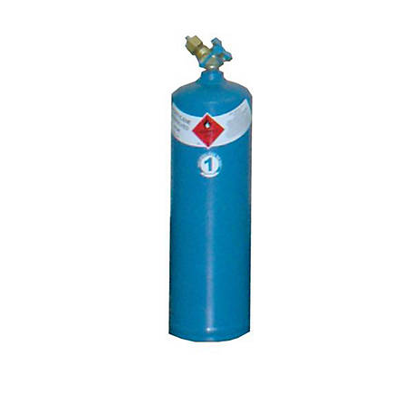 Thoroughbred Acetylene Gas Cylinder, #1 Size