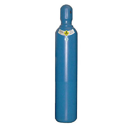 Thoroughbred Oxygen Gas Cylinder, #3 80 cu ft.