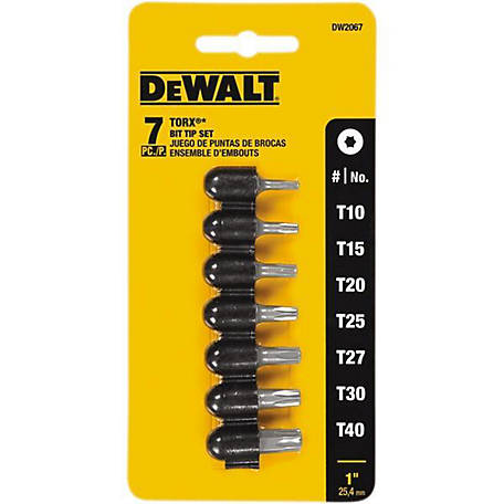 DeWALT Torx Bit Set, 7 pc.